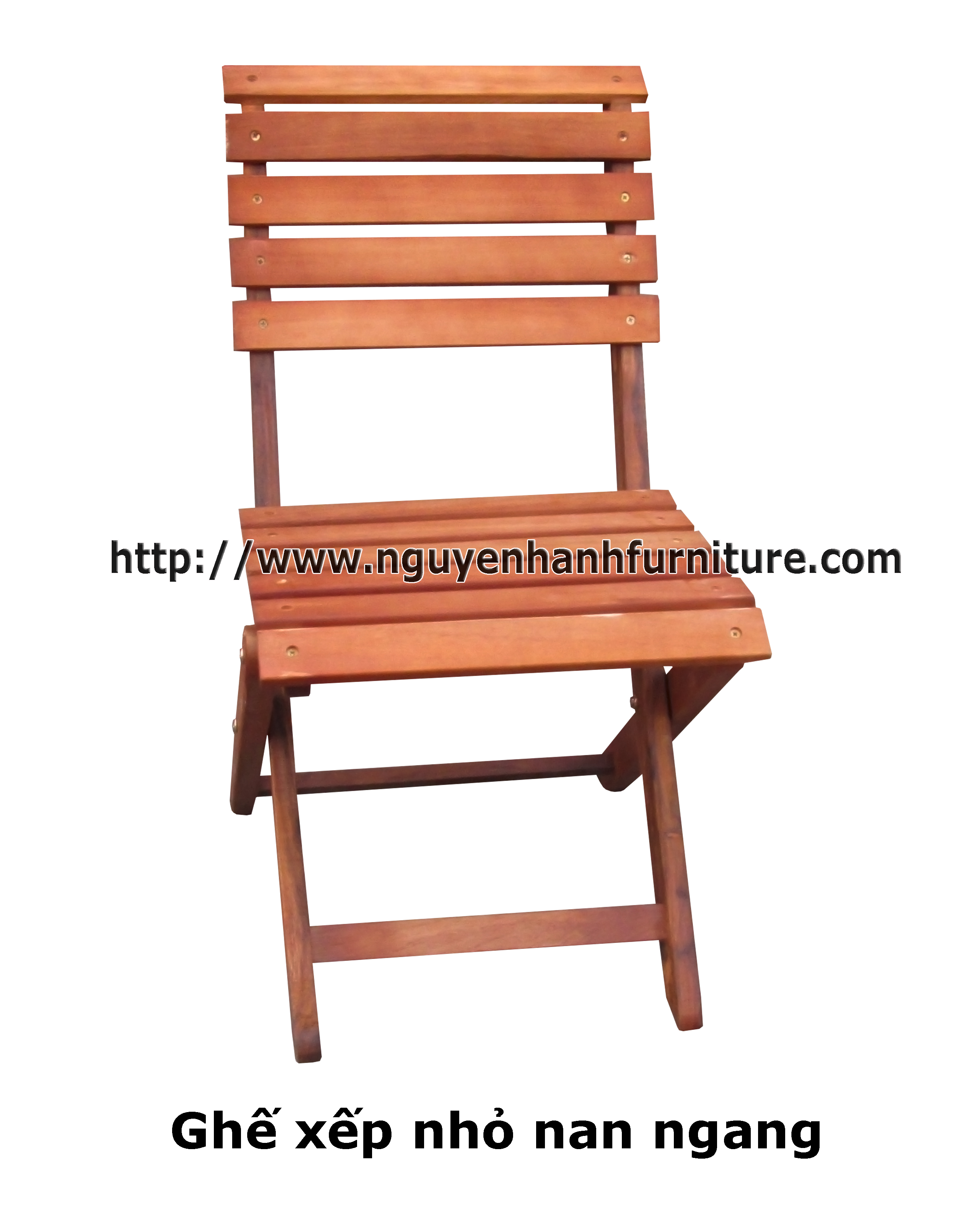 Name product: Small chair (new) - Description: Eucalyptus wood