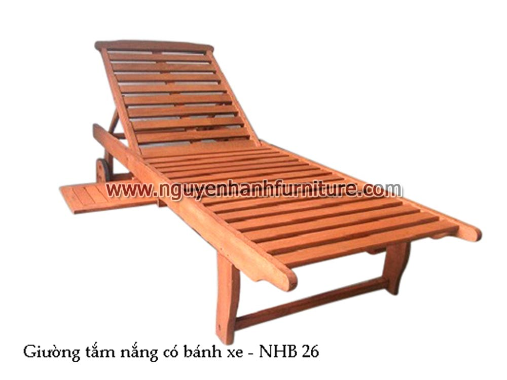 Name Product Sunbath Chair With Wheels